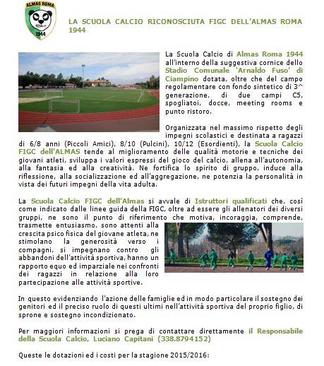 Scuola calcio 2